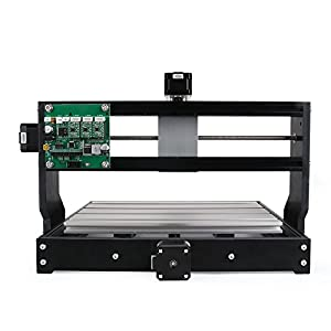 2-in-1 DIY CNC3018-PRO 3 Axis CNC Router Kit + 5500mw Laser Engraver - PCB Milling, Wood Carving Engraving Machine With ER11 And Offline Control Board
