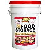 Augason Farms 30 Day Food Emergency Disaster Bucket, 1 Person, 20 Year Storage Shelf Life