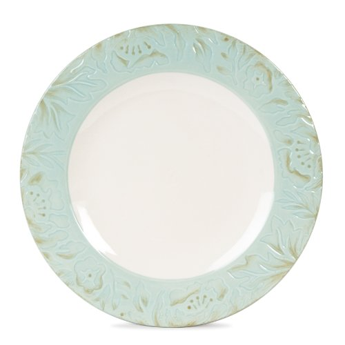 Fitz And Floyd Toulouse Dinner Plate, Green