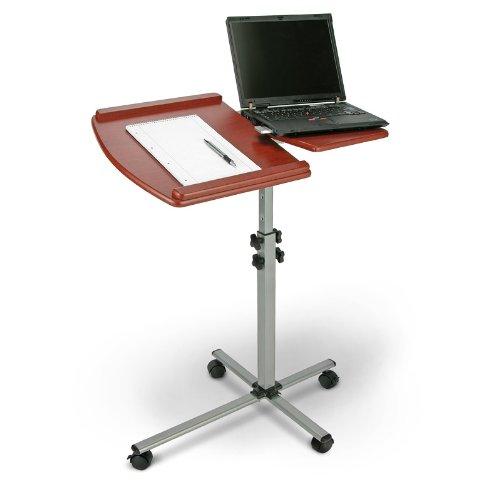 Base supporto tavolino leggio per pc notebook tavolo - Tavolino porta pc portatile ...