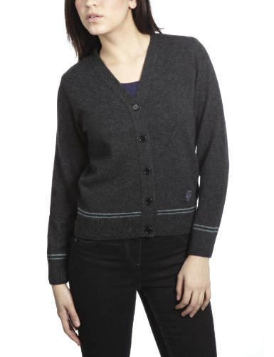 Hogwarts Slytherin Women's Cardigan Charcoal/Green Medium