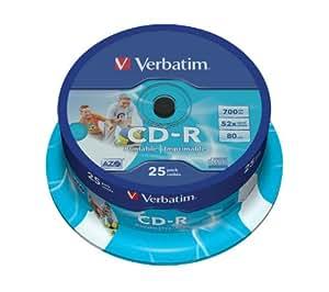 Verbatim DataLifePlus CD-R x 25 700 Mo