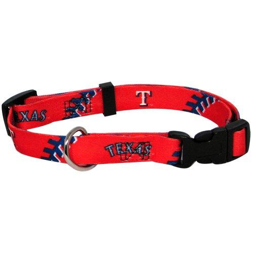 hunter-mfg-texas-rangers-dog-collar-medium