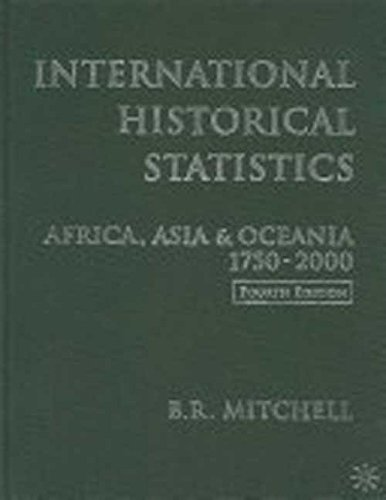 International Historical Statistics: Americas 1750-2000
