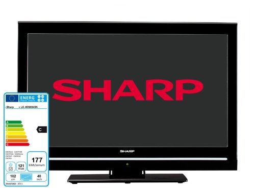 Sharp LC40SH340K 40 inch Full HD 1080p LCD TV with