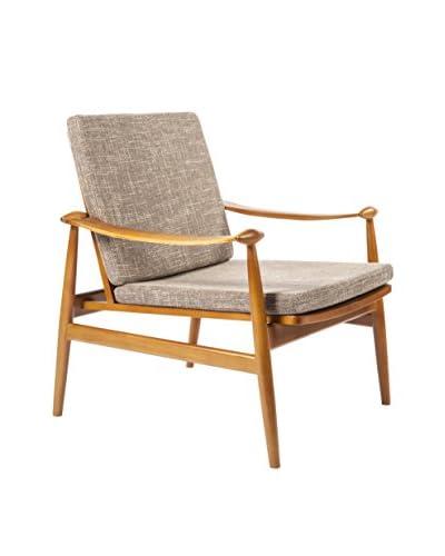 Stilnovo The  Perm Lounge Chair, Brown