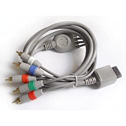 Kingzer Av / Av S Video / Hd Pro Component / Av D Terminal / Rgb Scart Cable For Wii New