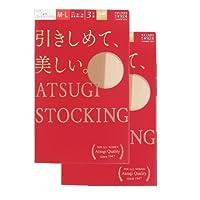 (アツギ)ATSUGI ATSUGI STOCKING 引きしめて美しい 〈3足組2セット〉