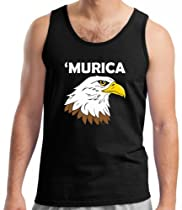Murica Tank Top XL Black