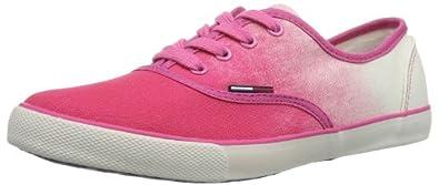 Hilfiger Denim HILTON 2D EN56817108, Damen Sneaker, Pink (SHOCKING PINK 679), EU 40