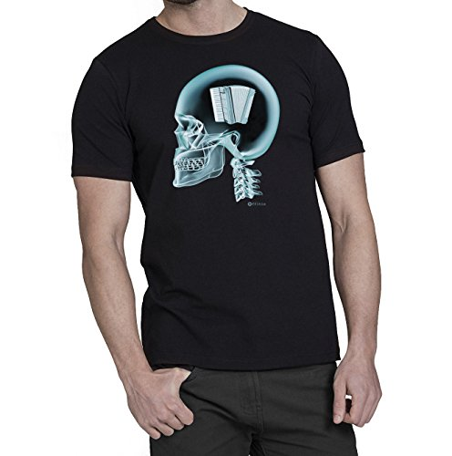 Accordian-Auf-Das-Gehirn-X-Ray-Herren-Akkordeon-Shirt