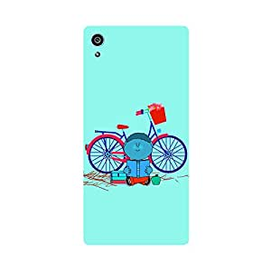 Digi Fashion Designer Back Cover with direct 3D sublimation printing for Sony Xperia Z5