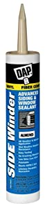 Dap 00813 Almond Side Winder Advance Polymer Siding and Window Sealant 10.1-Ounce