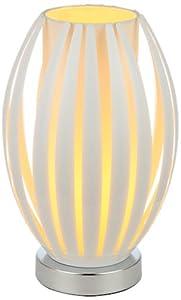Illumini Benross Varese Table Lamp, White from Benross