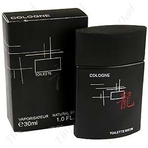 30ml 1.0FL.OZ Black Tabular Bottled Eau de Cologne Men's Fragrances Natural Spray Scent Toiletry Collection HCI-24170