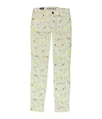 Bullhead Denim Co. Womens Galaxy Splash Skinny Fit Jeans