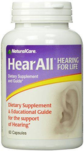 NaturalCare HearAll, Supports Optimal Hearing Function,  60 Capsules