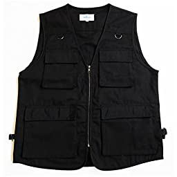 BLUESTONE Outback Concealment Vest, Black, 3X-Large