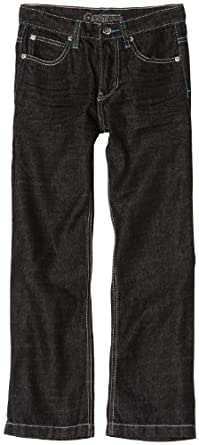 Southpole - Kids Big Boys' Long Denim Pants, Raw Black, 12