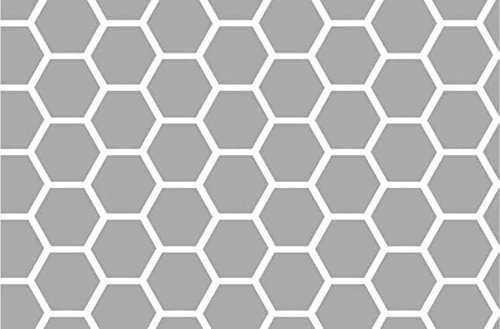 sheetworld-fitted-sheet-fits-babybjorn-travel-crib-light-grey-honeycomb-made-in-usa