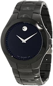 Movado Men's 0606536 Luno Sport Black PVD Watch