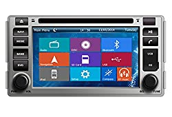 See Crusade Car DVD Player for Hyundai Santa Fe 2006-2012 Support 3g,1080p,iphone 6s/5s,external Mic,usb/sd/gps/fm/am Radio 6.2 Inch Hd Touch Screen Stereo Navigation System+ Reverse Car Rear Camara + Free Map Details