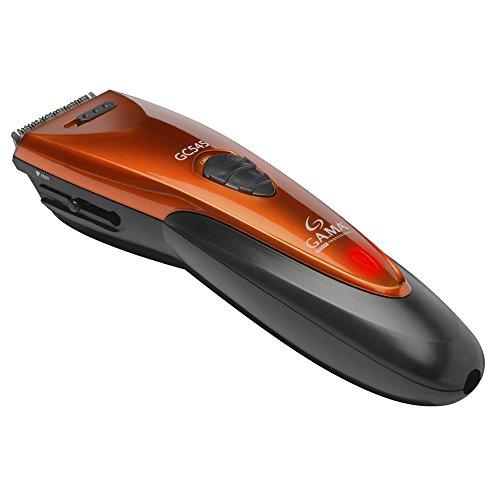 Gama Italy Professional T21.GC545 Tagliacapelli, 11 Regolazioni di Taglio, Lama in Acciaio Inossidabile/Rosso