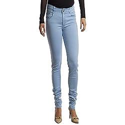 Facts FT04 Women's Denim Jeans (Blue) (Size : 30)