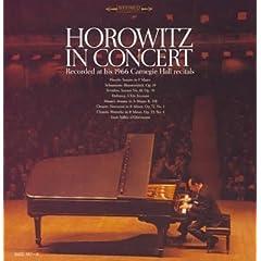 ウラディミール・ホロヴィッツ(P)  1966年 カーネギー・ホール・コンサートの商品写真