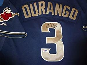Buy Luis Durango Signed Game Used 2010 SD Padres Jersey - PSA DNA Certified - Autographed MLB Jerseys by Sports Memorabilia