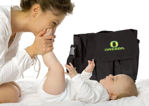 University Of Oregon Diaper Bag Official Ncaa College Logo Deluxe Uo Ducks Baby