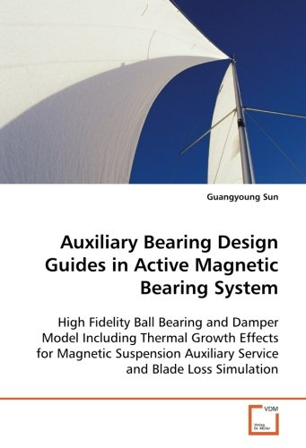 Auxiliary Bearing Design Guides in Active Magnetic Bearing System: High Fidelity Ball Bearing and Damper Model Including Thermal Growth Effects for ... Auxiliary Service and Blade Loss Simulation PDF