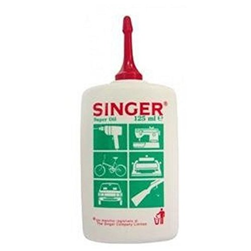 SINGER SUPER OIL OLIO LUBRIFICANTE MULTIUSO 125ML