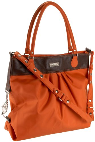 Hadaki Tote Around Pod Tote,Orange,one size