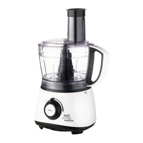 Wahl ZX769 James Martin Food Processor 900W 1.75 Litre Capacity White/Black with Free Recipe DVD
