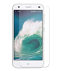 SAVVY(TM) HD+ Real Tempered Glass Screen Scratch Guard Protector For LYF Water 2 LS5008