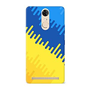Top Notch Hard Fancy Luxurious Scratch Proof Back Cover For Lenovo K5 Note - Design -201