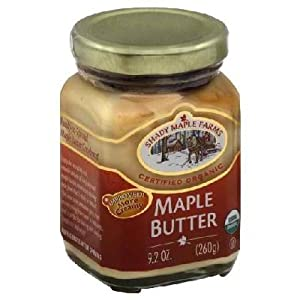 Shady Maple Farms Maple Butter 9.2000 Oz -Pack of 8