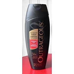 Revlon Outrageous Daily Beautifying Shampoo for Normal Hair 13.5 Oz