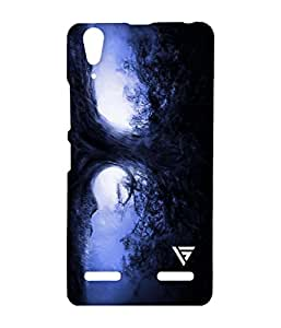 Vogueshell 3D Line Pattern Printed Symmetry PRO Series Hard Back Case for Lenovo A6000