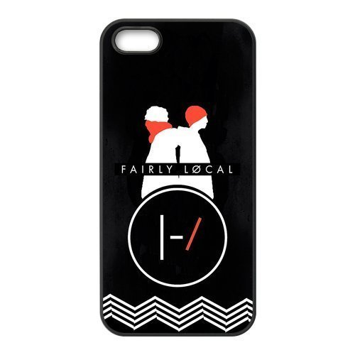 Welcome!Iphone 5/5S Cases-Brand New Design Twenty One Pilots Printed High Quality TPU For Iphone 5/5S 4 Inch -03