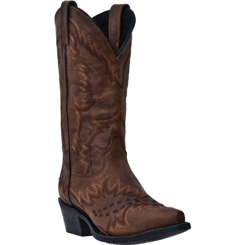 2f63e064c58fa Laredo 68414 Men s 12-in Little Sidewinder Boot Vintage Tan Goat 10 D US