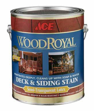 House Paint Ace Paint Division 165a175 1 Wood Royal Exterior 100 Acrylic Latex Semi