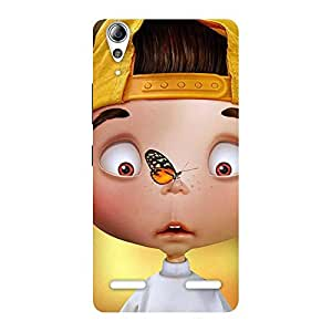 Special Confused Funny Boy Back Case Cover for Lenovo A6000 Plus