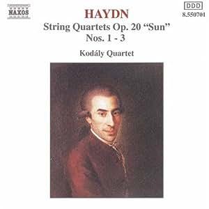 Qrt String Op 20 Nos. 1-3
