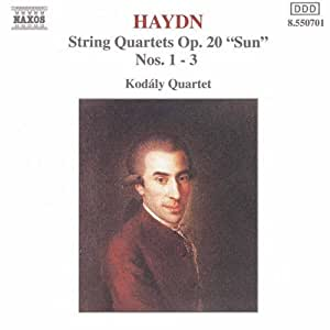 String Quartets Op 20 1-3