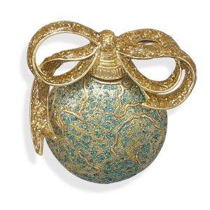 14 Karat Gold Plated Ornament Fashion Pin