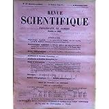 REVUE SCIENTIFIQUE du 04-11-1905 PHYSIOLOGIE VEGETALE PAR H. MOLISCH - MATHEMATIQUES APPLIQUEES PAR EMILE MACQUART...