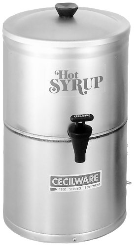 Grindmaster-Cecilware SD2 2-Gallon Syrup Warmers, 9-Inch Diameter by 17-Inch Height