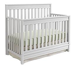 Sealy Bella Convertible Crib, Tranquility Gray